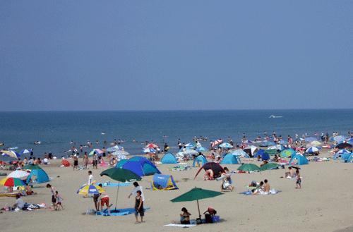西目海水浴場