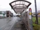 E20410羽後岩谷駅前